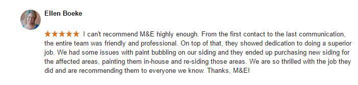Fort Collins House Painting Review - Ellen Boeke