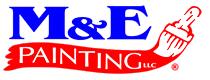 M&E painting Logo