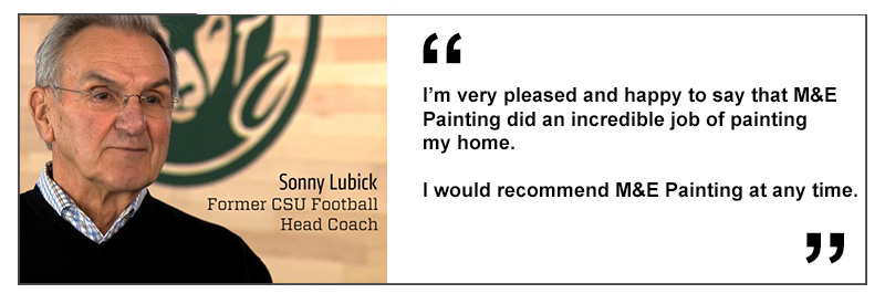 Fort Collins Painting Review Sonny Lubick